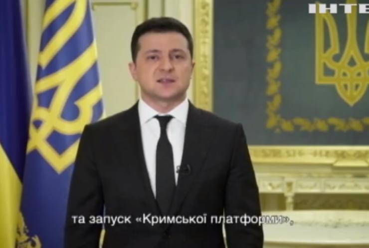 Володимир Зеленський наказав розробити стратегію деокупації Криму