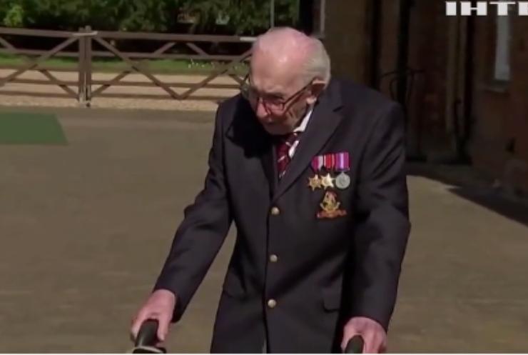 Ветеран британської армії помер від COVID-19