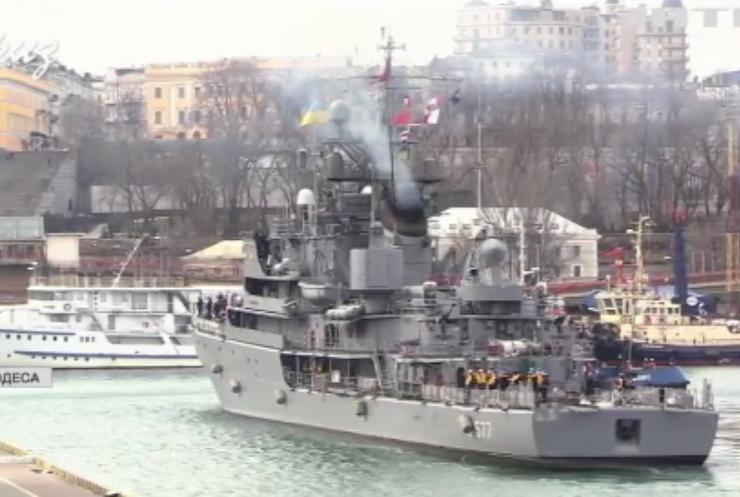 Кораблі НАТО зайшли до Одеського порту