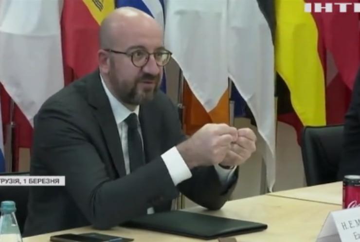 Президент Європейської ради офіційно відвідає Україну