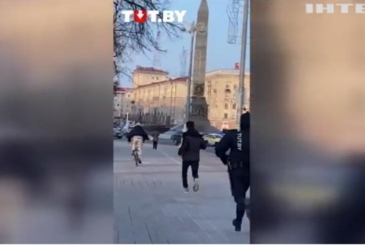Святкування Дня свободи у Білорусі закінчилось затриманнями