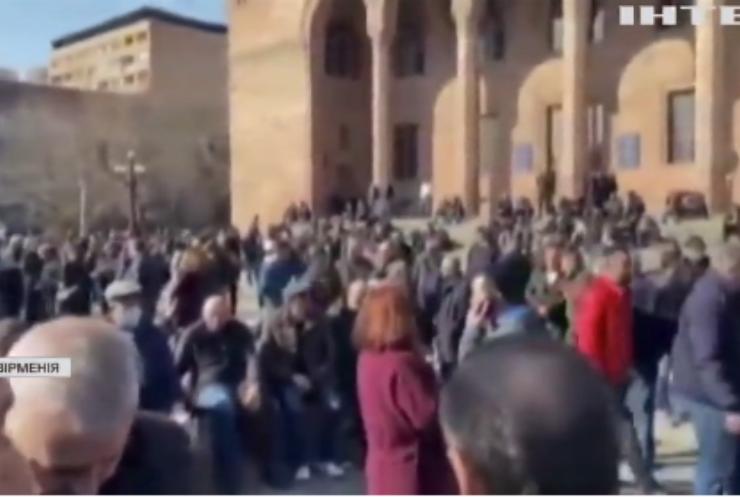 Протести в Єревані: люди вимагають відставки прем'єр-міністра