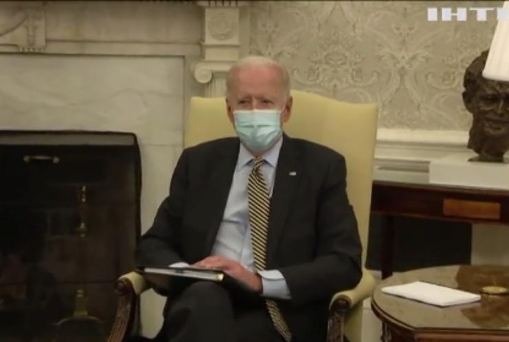 Джо Байден пропонує Путіну обговорити ситуацію з Україною