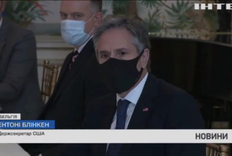 Дмитро Кулеба обговорив з держсекретарем США загострення з Росією