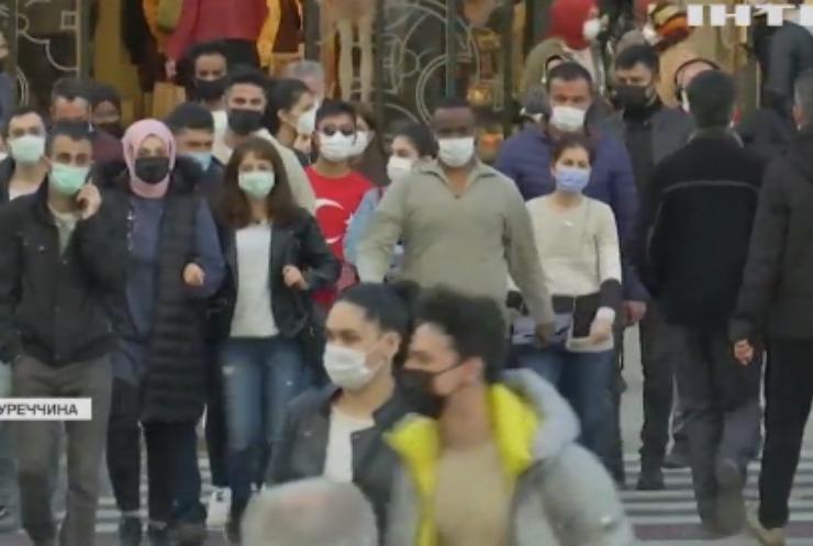 """Влада Туреччини запровадить """"частковий локдаун"""""""