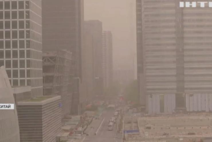 Столицю Китаю накрила пилова буря