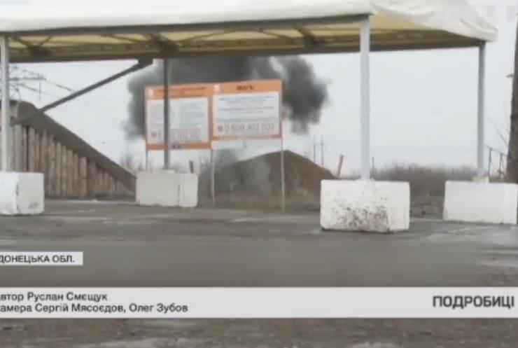 Війна на Донбасі: бойовики закидують забороненими мінами
