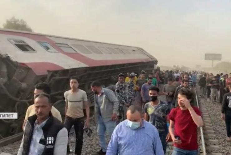 В Єгипті перекинувся потяг: загинуло 11 людей