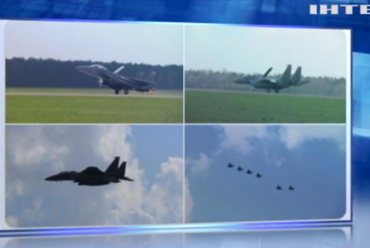 У Польщу прилетіли американські винищувачі