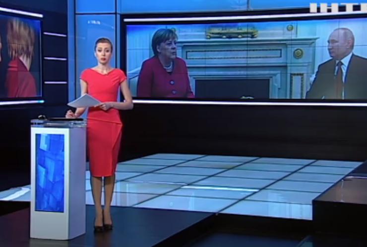 Ангела Меркель вимагає відвести російських армійців від українських кордонів