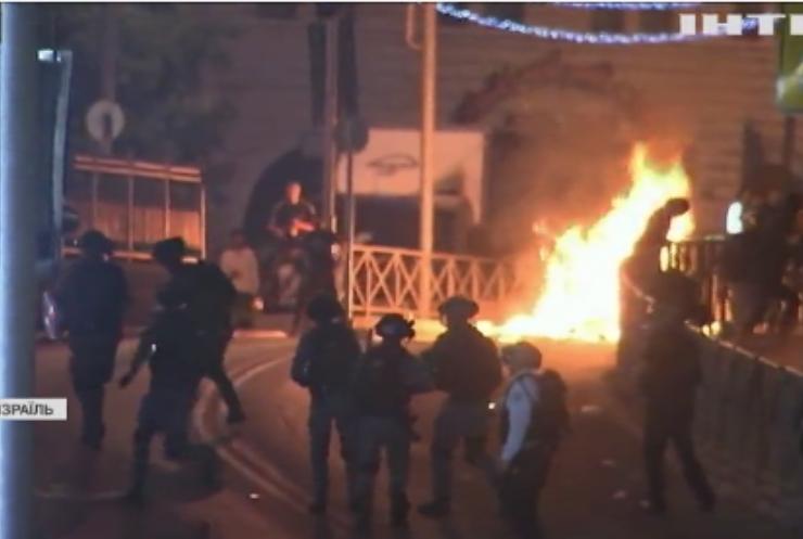 Сутички в Єрусалимі: понад 300 людей постраждали внаслідок зіткнення