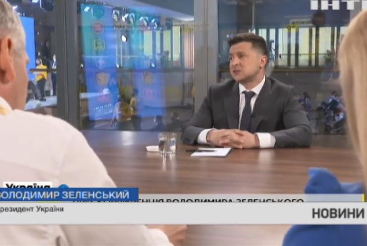 Володимир Зеленський розповів про ситуацію біля українських кордонів