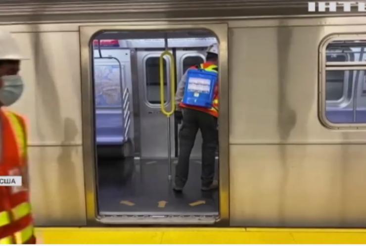 У метро Нью-Йорку почнуть щепити від COVID-19