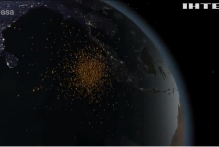Сміття на орбіті Землі може заблокувати доступ у космос