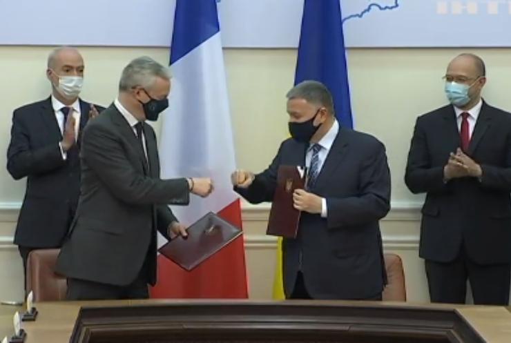 Україна підписала з Францією угоди про співпрацю
