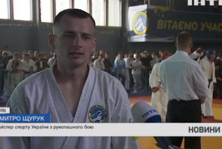 У столиці відбувся Чемпіонат України з рукопашного бою
