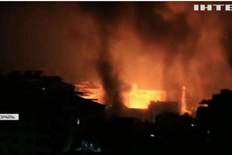 Ізраїль атакував базу військової розвідки ХАМАС