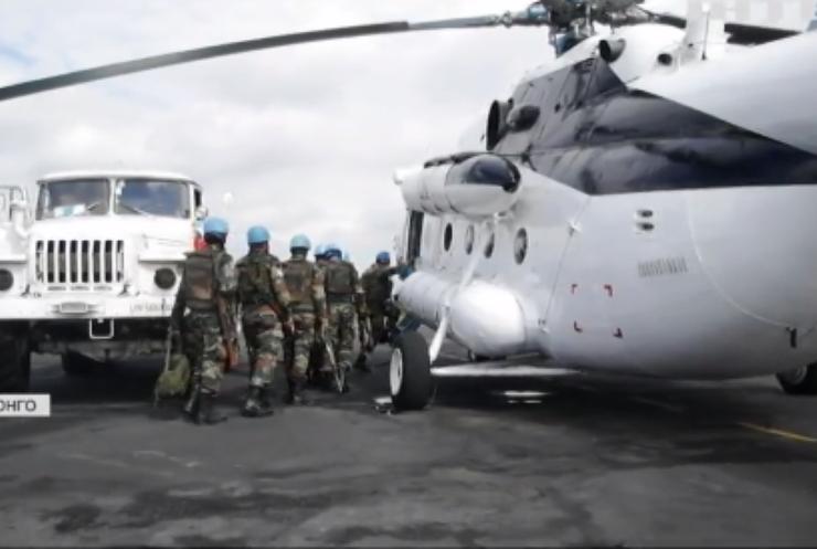 У Конго евакуювали українських миротворців через вулкан