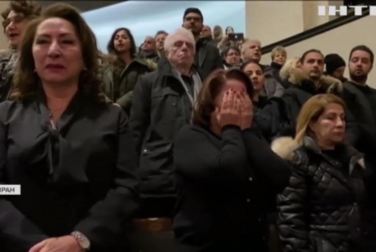 В Ірані залякували сім'ї жертв збитого літака МАУ