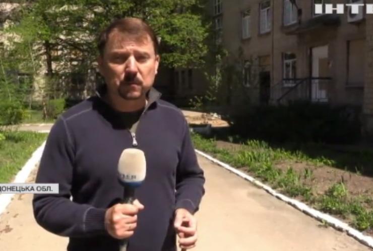 На Донеччині бойовики обстріляли лікарню з інфікованими на COVID-19