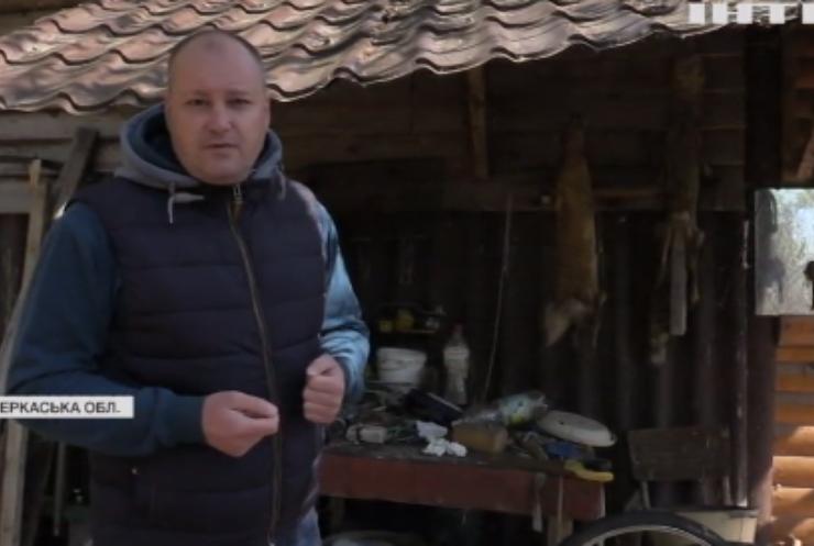 На Черкащині виявили браконьєрське містечко