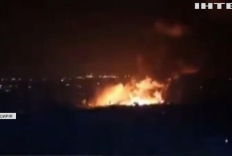 Ізраїль завдав авіаудари на півночі Сирії