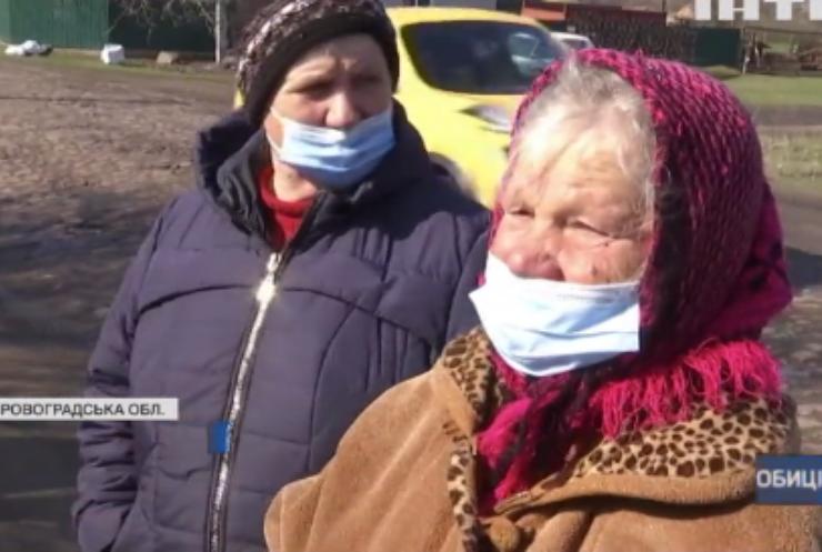 Селяни проти далекобійників: на Кіровоградщині повстали жителі