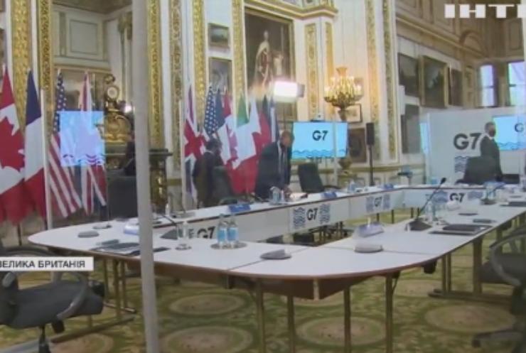 Країни Великої сімки пообіцяли пильно стежити за діями Москви
