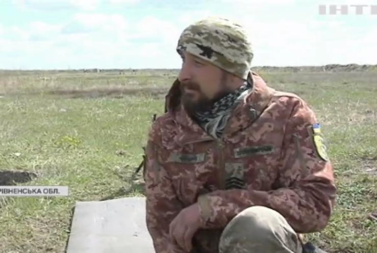 На рівненському полігоні тренують українських піхотинців