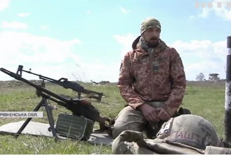 На Рівненщині піхотинці проводять військові навчання