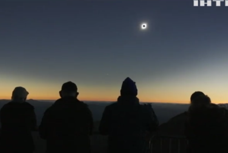 Світ спостерігатиме сонячне затемнення