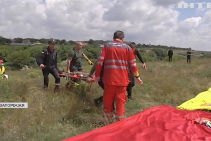 Біля Запоріжжя тренувалися рятувальні служби: як усе відбулося?