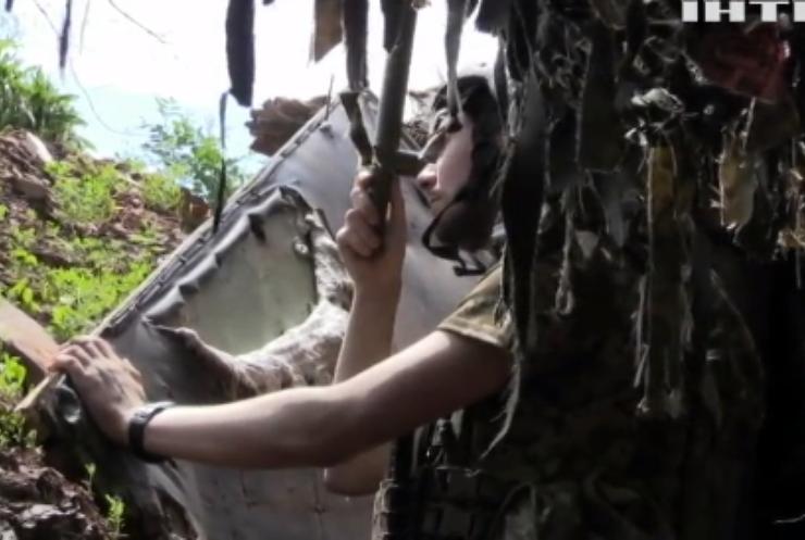 На Донбасі противник здійснив дванадцять обстрілів українських позицій