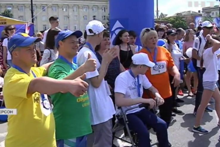 У Херсоні провели благодійний забіг на підтримку дітей з інвалідністю