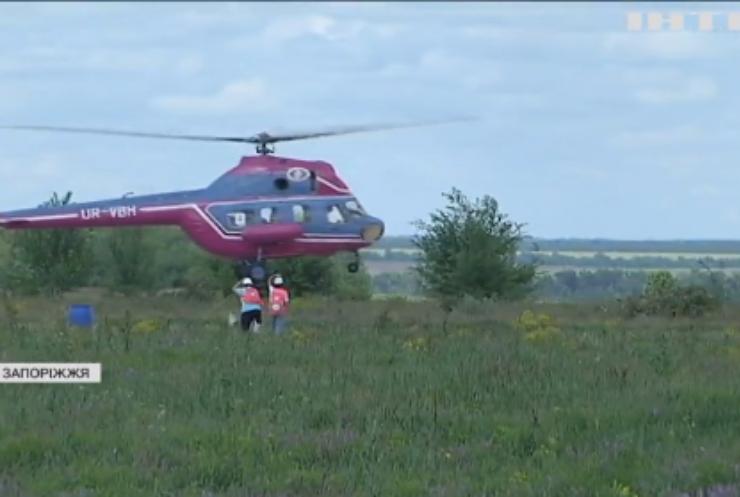 Під Запоріжжям триває Чемпіонат України з вертолітного спорту