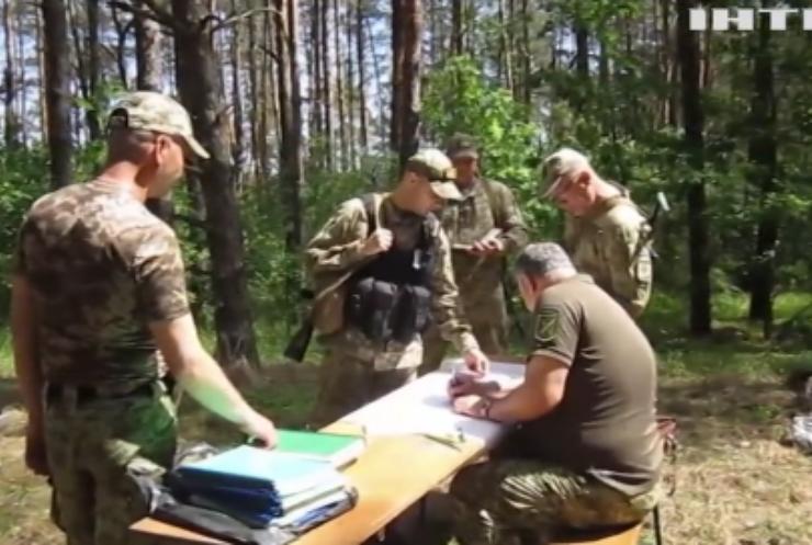 Прикордонники Луганщини провели тактичні тренування