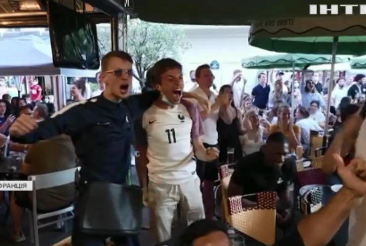 У Франції відзначили перемогу своєї футбольної збірної