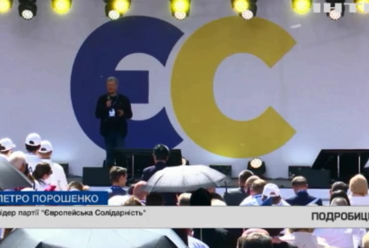 Петро Порошенко презентував стратегію розбудови європейської України
