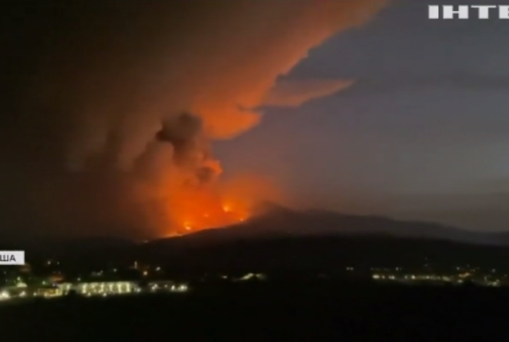 Аризона потерпає від масштабних лісових пожеж