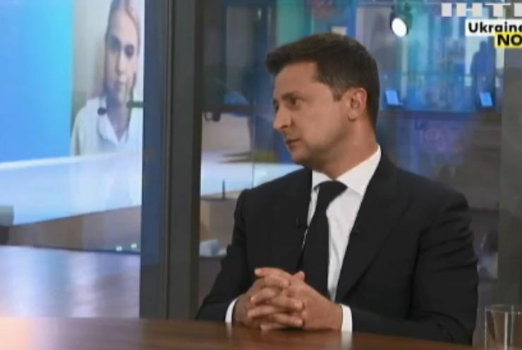 Володимир Зеленський дав відповідь на запитання стосовно закону про мову