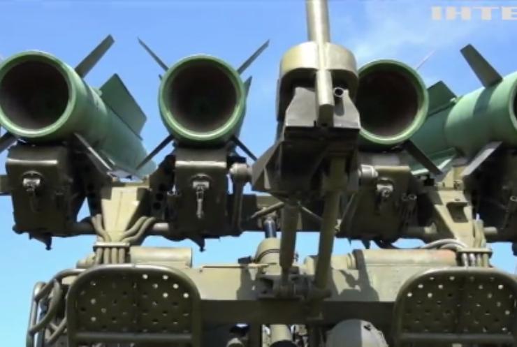 Поряд з Кримом військові тренувалися відбивати авіаційний удар противника