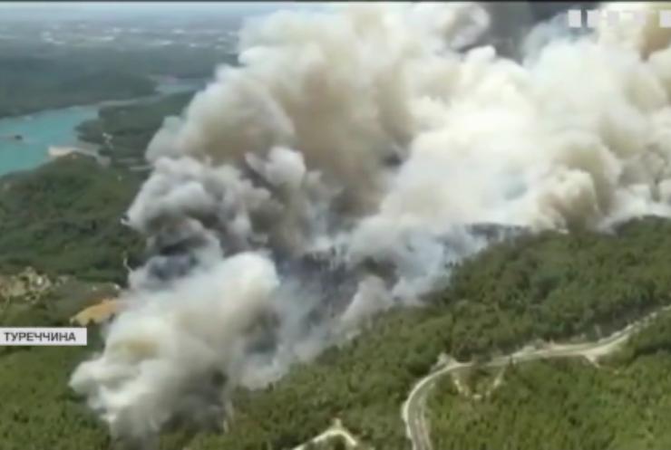 Туреччина потерпає від лісових пожеж