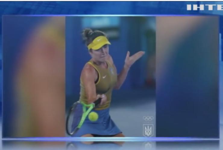Еліна Світоліна виборола першу в історії українського тенісу олімпійську медаль