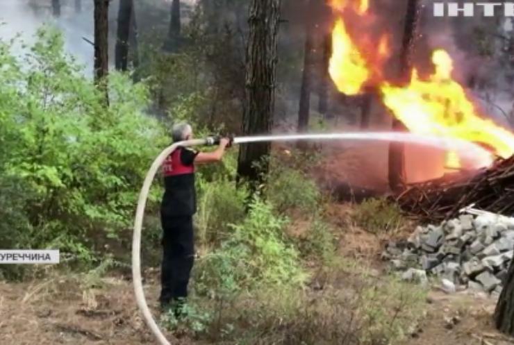 Зона лиха: у Туреччині не вщухають пожежі