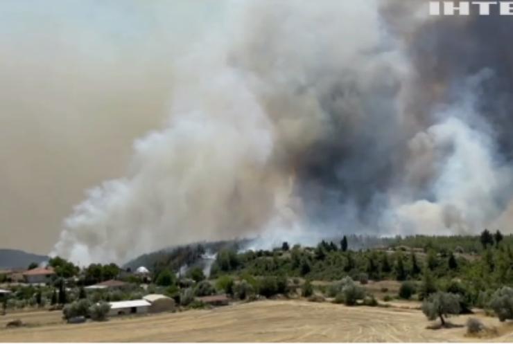 Пожежі у Туреччині: яке становище на узбережжі та у готелях?