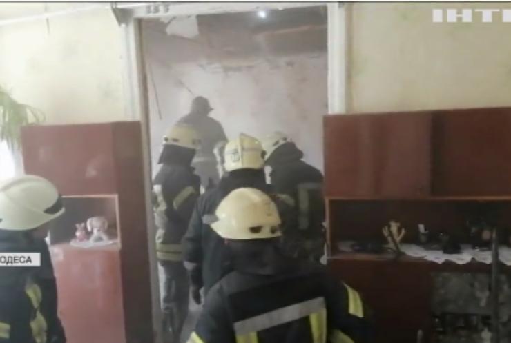 Обвал будинку в Одесі: загинула літня жінка