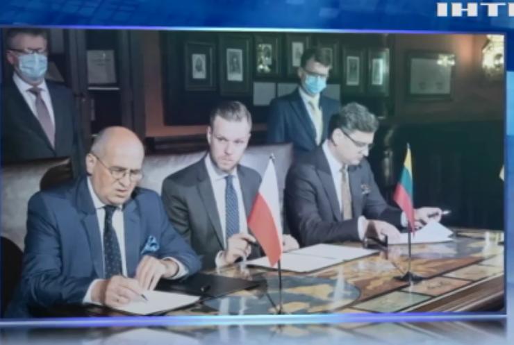 Представники Польщі та Литви підписали декларацію з підтримкою членства України у НАТО