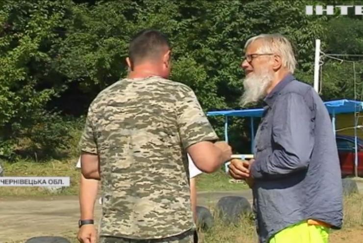 Турист з Німеччини став інтернет-зіркою на Буковині