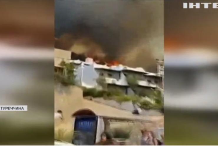 У Туреччині від лісових пожеж загинули вісім людей