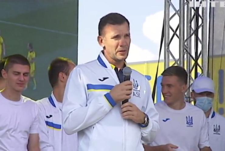 Андрій Шевченко пішов з посади головного тренера збірної з футболу